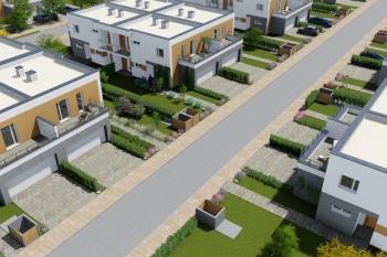 Bierzglinek - domy jednorodzinne - segmenty