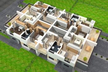 Bierzglinek - domy jednorodzinne - wizualizacja pietra