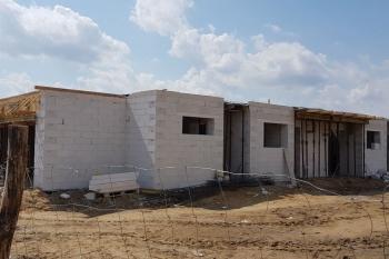 Domy jednorodzinne - Bierzglinek - początek budowy - sierpień 2019