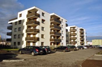 Mieszkania, bloki, osiedle, Września - Pilska