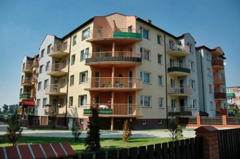 Mieszkania, bloki, osiedle, Miłosław, ul. Dworcowa