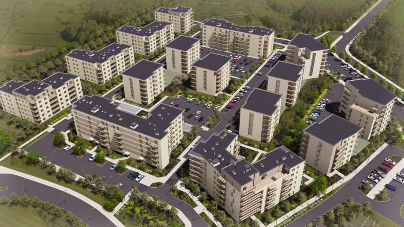 Nowe Centrum Września - plan osiedla