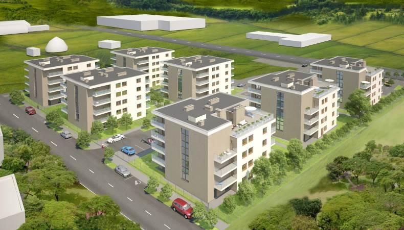 Nowbud, deweloper, nowe mieszkania na Pilskiej, Września, wizualizacja