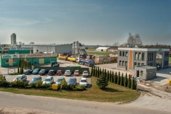 Siedziba firmy Nowbud - widok z góry
