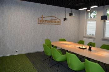Siedziba firmy Nowbud - sala konferencyjna